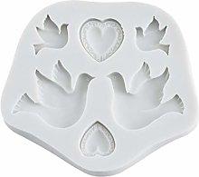 CandyTT Stampo in Silicone per Colomba della Pace