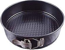 Canjerusof teglia da forno rotonda in acciaio al