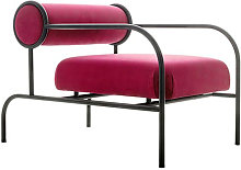 Cappellini Sofa with Arms Black Edition - Poltrona