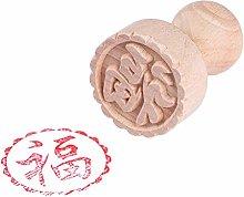 Caratteri cinesi tradizionali Moon Cake Stamp