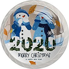 Carino 2020 Natale pupazzo di neve invernale (4