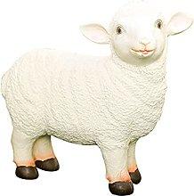 Carino ornamenti di figurina di agnello, statua
