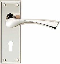 Carlisle SZR021PN - Maniglia per porta in ottone,