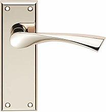 Carlisle SZR022PN - Maniglia per porta in ottone,