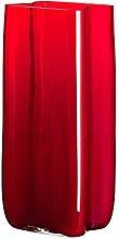 Carlo Moretti Bosco 499 Vaso Rosso in Vetro di