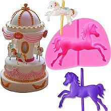 Carousel Horse Fondant Silicone Mold