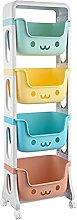 Carrello portaoggetti per giocattoli per bambini