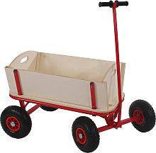 Carriola carretto legno per bambini Oliveira