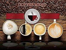 Carta da parati Cafe Dessert Caffè Sfondo