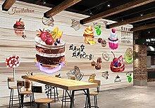 Carta da parati Caffè Negozio di dolci per torte