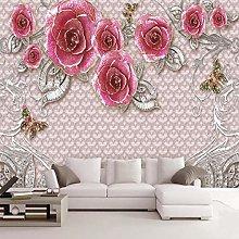 Carta Da Parati fiore Muro Moderni Soggiorno 3D