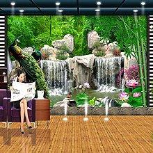 Carta da parati murale 3D Paesaggio Foresta di