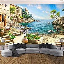 Carta da parati murale 3D Paesaggio marino murale