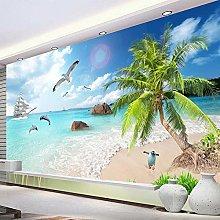 Carta da parati murale 3D Paesaggio marino