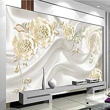 Carta da parati murale 3D personalizzata 3d fiore