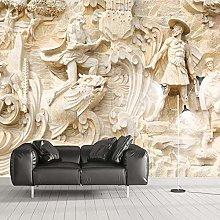 Carta Da Parati Personalizzata Murale 3D Stereo