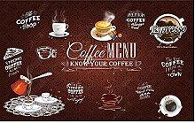 Carta da parati Retro Old Coffee House Sfondo