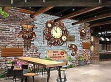 Carta da parati Stone Wall Coffee Shop Bar Sfondo