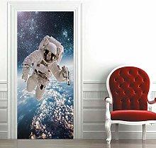 Carta Parati Porta Astronauta Door Murale Carta da