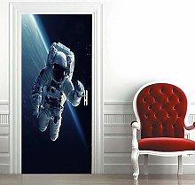 Carta Parati Porta Astronauta Spaziale Door Murale