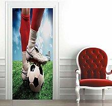 Carta Parati Porta Calcio Door Murale Carta da