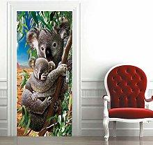 Carta Parati Porta Koala Carino Door Murale Carta