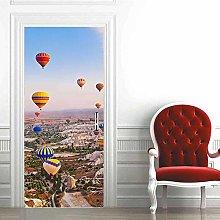 Carta Parati Porta Mongolfiera Turchia Door Murale