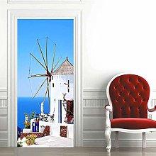 Carta Parati Porta Paesaggio Mediterraneo Door