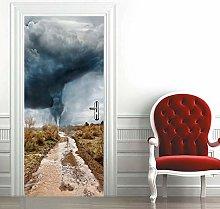 Carta Parati Porta Tornado Door Murale Carta da