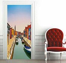 Carta Parati Porta Venezia Paesaggio Door Murale