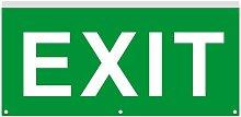 Cartello di Emergenza LED Una Luce Exit