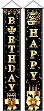 Cartello per portico di buon compleanno Scatola