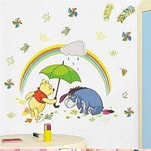 cartone animato 40 * 60 cm adesivi murali