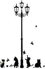 Cartone animato fai da te lampada antica quattro