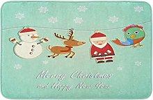 Cartone Natale E Capodanno Babbo Natale Pupazzo di