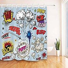 Cartoon nuvola fumetto modello stampa HD, bagno