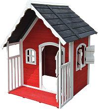 Casa casetta giochi per bambini in legno con