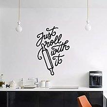 Casa cucina e sala da pranzo decorazione testo