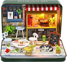Casa delle bambole in miniatura Casa delle bambole