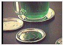 Casalinghi Sottobottiglie inox, Confezione 2