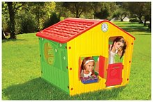 Casetta gioco per bambini village cm 140x108x115h