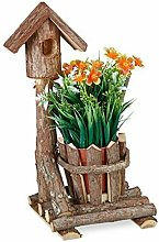 Casetta per Uccelli con Vaso, Decorazione