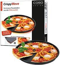 Caso, Teglia da Microonde per Pizza, Diametro 24 cm