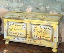 Cassapanca Manet giallo romance