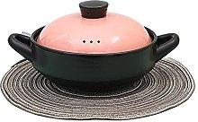 Casseruola in ceramica in terracotta per stufato