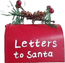 Cassetta delle lettere di Natale, scatola vuota,