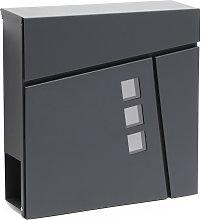 Cassetta postale di design V24 vano portagiornale