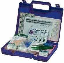 Cassetta pronto soccorso in plastica, Mis. 235 L x