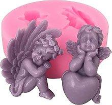 Castello di bellezza fai da te 3D angeli stampo in