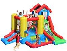 Castello Gonfiabile Gigante Bambini Gioco Scivolo